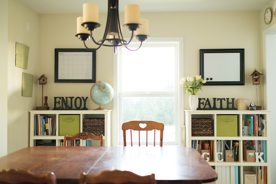 Our home school room some new all improved this is for Homeschool dining room ideas